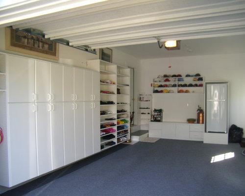 Garage shoe storage houzz for Closet world garage