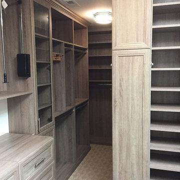 Extravagant Master Walk-In Closet - Atlanta, Georgia