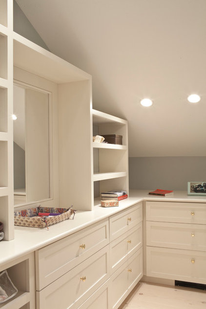 Traditional Closet by Beckwith Group