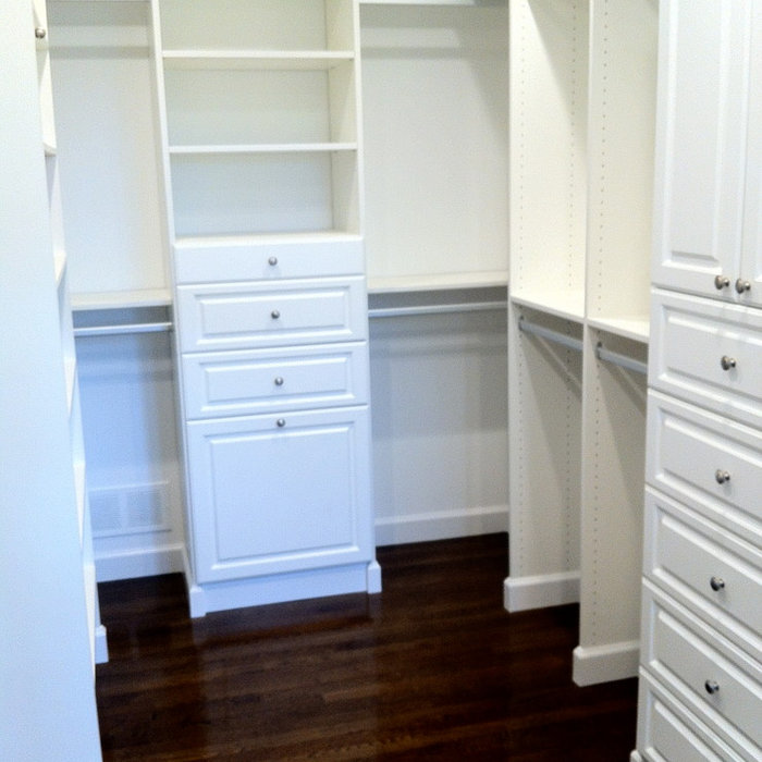 Fair Haven NJ Walk-in Closet