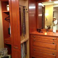 Traditional Closet by Dow Construction