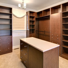 Traditional Closet by Farinelli Construction Inc