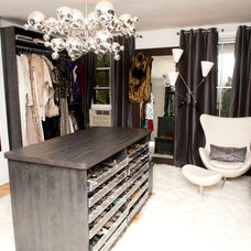 Contemporary Closet by Closet Factory