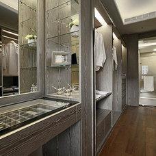 Contemporary Closet by AERYLUNA  interior design company