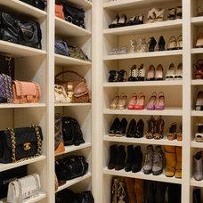 Traditional Closet by Platinum Designs, LLC - Ian G. Cairl, Designer