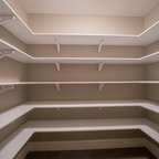 Reach-in Linen Closet - Contemporary - Closet - New York - by transFORM Home