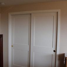 Traditional Closet by Rockin' Fine Finish