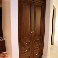 Traditional Closet by CUCINA KITCHENS & BATHS