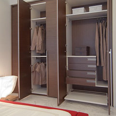 modern closet by Pepe Calderin Design- Miami Modern Interior Design