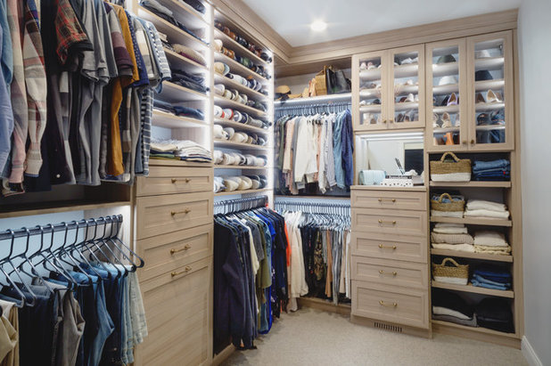 Transitional Closet by California Closets Southdale