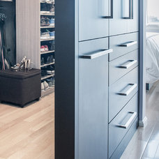 Contemporary Closet by Lee Kimball