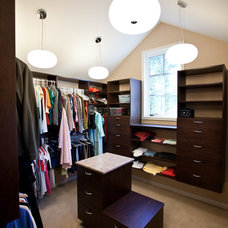 Traditional Closet by Orfield Remodeling, Inc