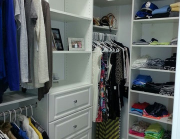 Floor Based Closet Systems