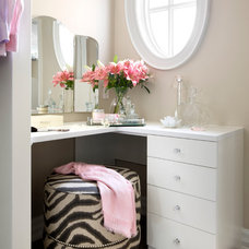 Contemporary Closet by Laura Stein Interiors