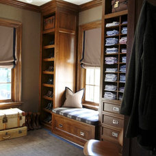 Traditional Closet by S. B. Long Interiors
