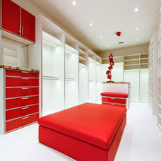 Contemporary Closet by Kenneth Crawford Interiors