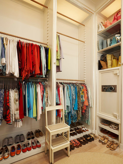 Marvelous Inspiration For A Transitional Closet Remodel In New York