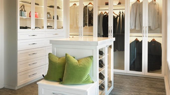 Front white closet