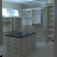 Traditional Closet by Martin Custom Builders, LLC.