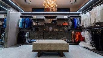 Ft Lauderdale Contemporary Custom Closet
