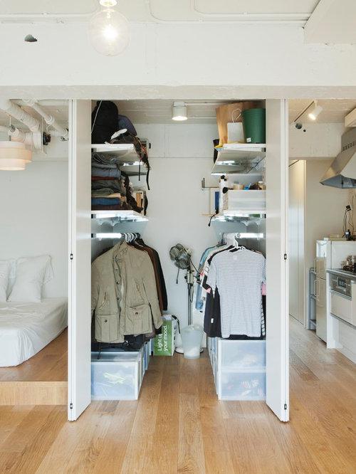 industrial ankleidezimmer ideen f r den ankleideraum houzz. Black Bedroom Furniture Sets. Home Design Ideas