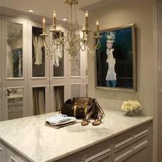 Traditional Closet by Rabaut Design Associates, Inc.