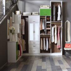 Contemporary Closet by California Closets