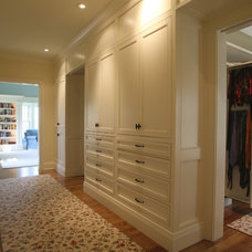 Traditional Closet by Crawford Builders