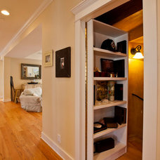Traditional Closet by Lane Design + Build