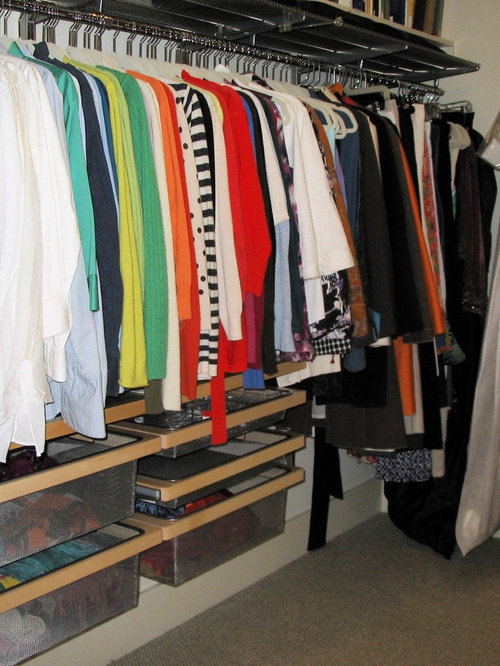 elfa closet system ideas pictures