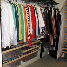 Contemporary Closet by All Things Home Organizing™ by Gayle Grace