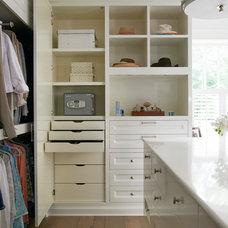 Traditional Closet by Brooks and Falotico Associates, Inc.