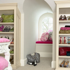 Contemporary Closet by Martha O'Hara Interiors