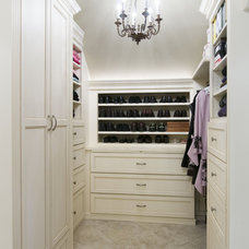 Traditional Closet by Design Manifest