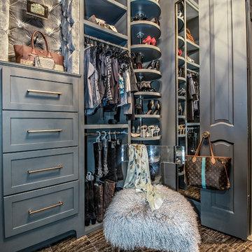 Glamorous closet
