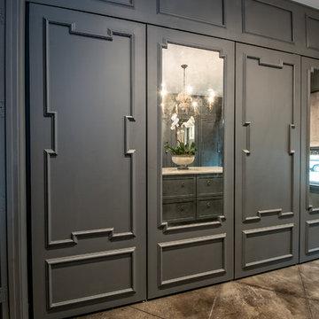 Glamorous custom closet