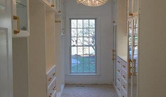 Glamorous Walk-In Closets