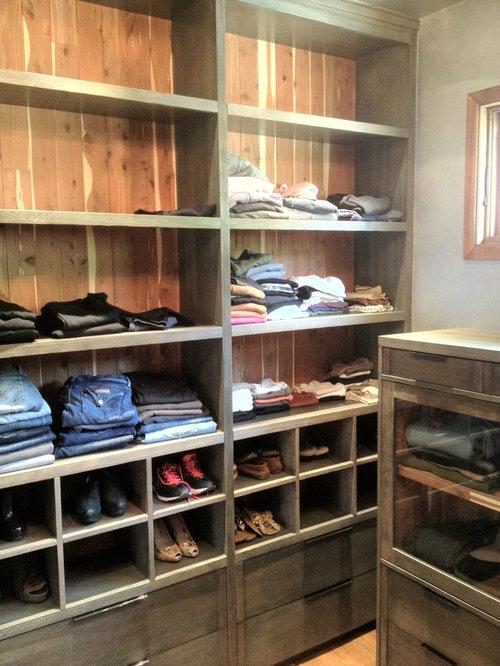 Industrial Ankleidezimmer für Frauen - Ideen für den Ankleideraum ...