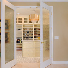Traditional Closet by Kerrie L. Kelly