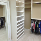 Dressing Room Shoe Closet Traditional Closet New