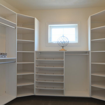 Grand Closet with Functional Storage Solutions