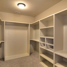 Traditional Closet by Grandfather Homes