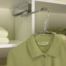 Contemporary Closet by Evolution Closets