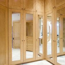 Contemporary Closet by CR Design and Build