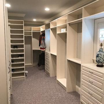 Greenbrier Master Closet