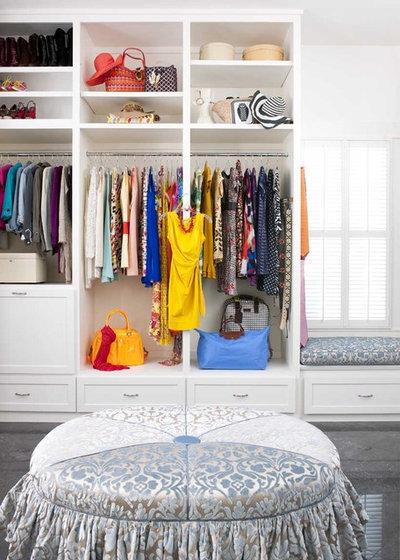 Transitional Wardrobe by Astleford Interiors, Inc.