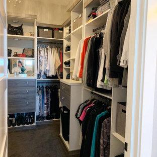 Harmsen Residence- Master walk in closet
