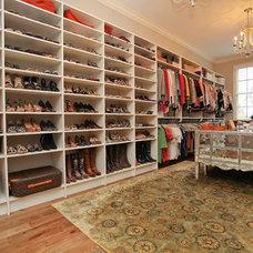 Traditional Closet by Kerri Robusto Interiors