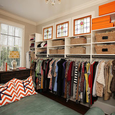 Traditional Closet by Kerri Robusto Interiors