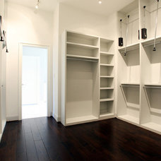 Craftsman Closet by Brickmoon Design